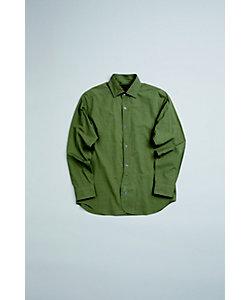 Nigel Cabourn(Men)/ナイジェル・ケーボン ブリティッシュオフィサーズシャツ ツイル BRITISH OFFICERS SHIRT TWILL 80400010011