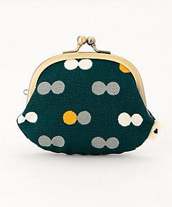 AYANOKOJI/アヤノコウジ 3.3寸がま口財布にこだま柄(W-33-nkdm)