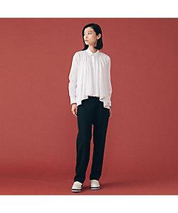 L'EQUIPE(Women)/レキップ フライフロントデザインシャツ