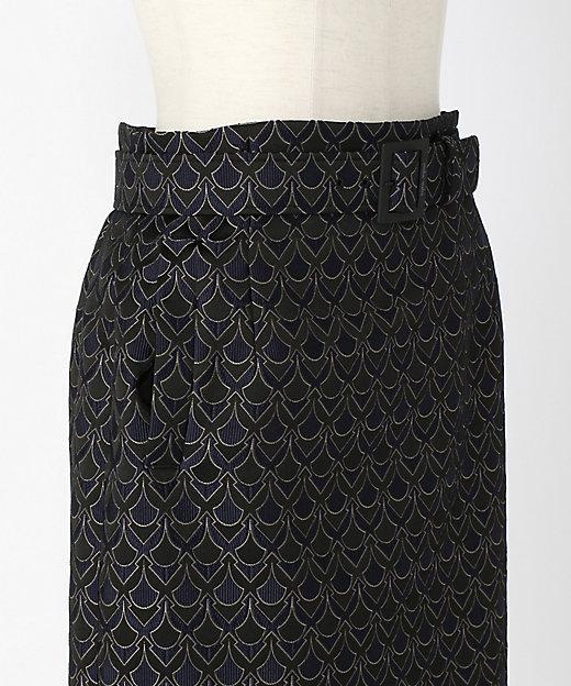 パターンジャガードスカート
