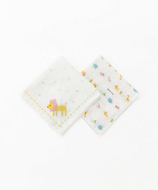 <MIKI HOUSE(Baby & Kids)/ミキハウス> ガーゼハンカチセット シロ【三越伊勢丹/公式】