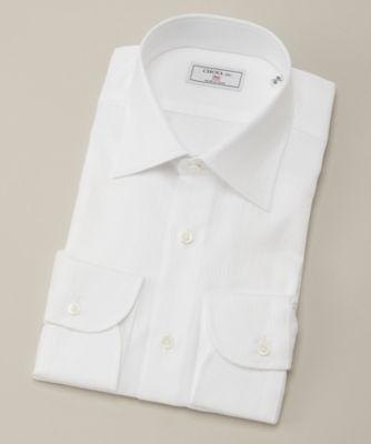 <CHOYA1886/チョーヤ1886> 長袖ワイシャツ(CVD012-200) 200シロ<三越・伊勢丹/公式>