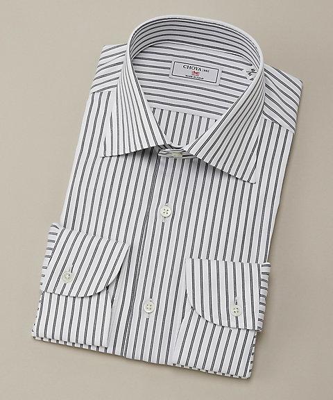 長袖ワイシャツ(CVD701-455) 455ネービー