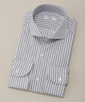 <CHOYA1886/チョーヤ1886> 長袖ワイシャツ(CVD703-450) 450ダルブルー<三越・伊勢丹/公式>