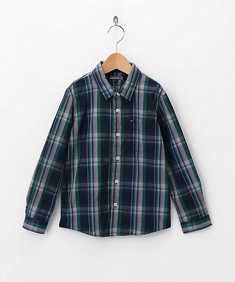 <TOMMY HILFIGER/トミー ヒルフィガー> シャツ ネイビー 【三越・伊勢丹/公式】