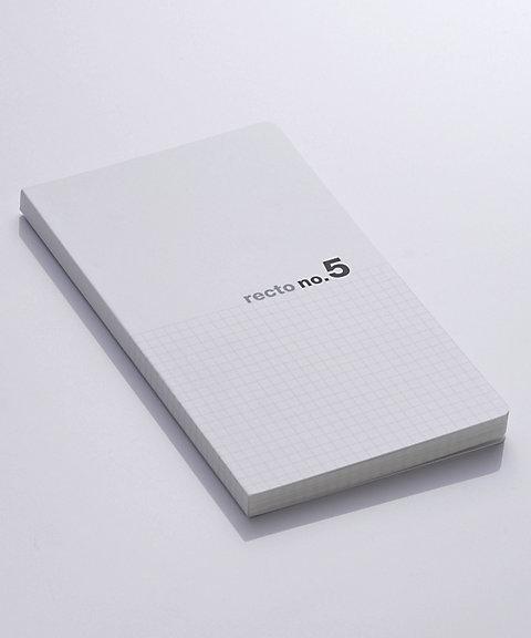 三越・伊勢丹オンラインストア<神戸派計画> recto style 方眼を選ぶノート no.5(5mm方眼) 【三越・伊勢丹/公式】