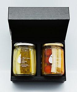 CONDIMENTO MEDITERRANEO/コンディメント・メディテラネオ 野菜のピクルス2種『セロリときゅうり・水なす和風mix』 ギフトセット