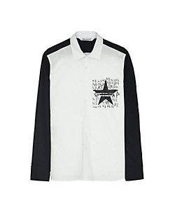 Neil Barrett(Men)/ニール バレット スポーツスタープリンテッドシャツ BCM1449S-P026S