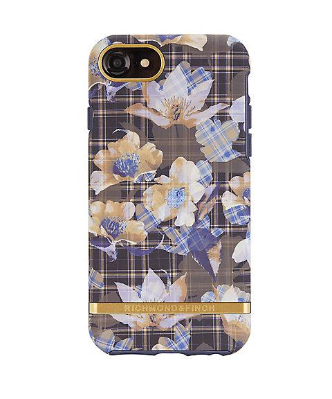 <リッチモンド&フィンチ> FLORAL CHECKED スマートフォンケース(iPhone6/6S/7/8対応)(IP678-208) 【三越・伊勢丹/公式】