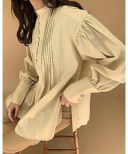 eim/エイム Amiur pin tuck blouse