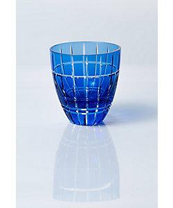 清水硝子/シミズガラス 和樂×清水硝子 北斎切子「格子富士」