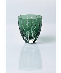 清水硝子/シミズガラス 和樂×清水硝子 ジャポニスム切子「ポプラ」