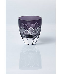 清水硝子/シミズガラス 和樂×清水硝子 ジャポニスム切子「睡蓮」