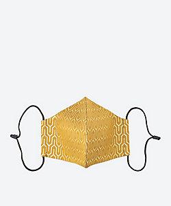 西陣岡本 tsuto/ニシジンオカモト ツト 西陣織帯亀甲地紋 マスク