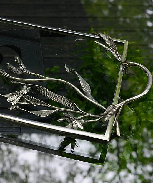 トレー ガラス ドラゴンフライ