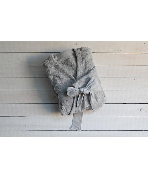 <育てるタオル/ソダテルタオル> MARQUE Lounge Robe(マルク ラウンジローブ) スモークグレー【三越伊勢丹/公式】