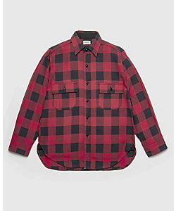 WOOLRICH (Men)/ウールリッチ シャツ L/S AUTHENTIC FLANNEL SHIRT WOSI0030K バッファローチェックシャツ