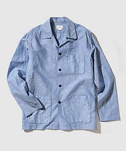 WOOLRICH (Men)/ウールリッチ シャツジャケット COTTON LINEN JACKET WOOU0049K