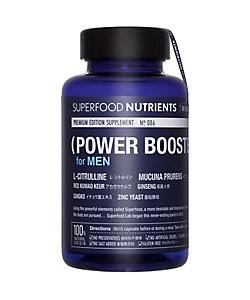 SUPERFOOD NUTRIENTS/スーパーフード ニュートリエンツ 【送料無料】POWER BOOSTER FOR MEN PREMIUM No.086(パワー ブースター フォー メン プレミアム)