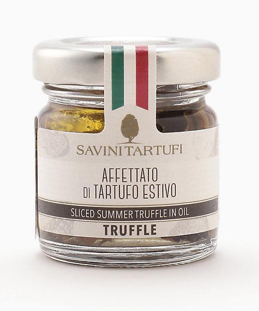 <SAVINI TARTUFI/サヴィーニ タルトゥーフィ> スライスサマートリュフのオイル漬け【三越伊勢丹/公式】