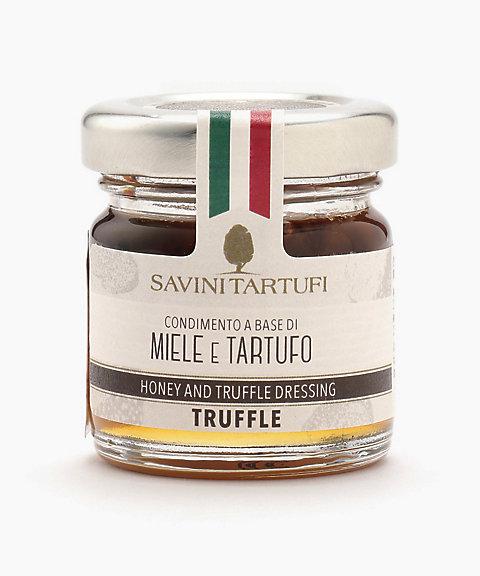 <SAVINI TARTUFI> 白トリュフ入りイタリア蜂蜜(アカシア)S【三越・伊勢丹/公式】