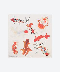 H TOKYO/エイチ トーキョー ハンカチ kingyo-Goldfish