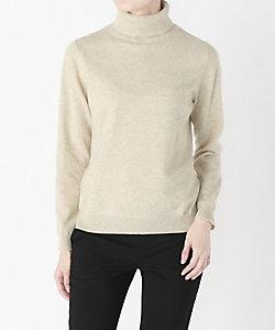 タートルネックカシミヤセーター
