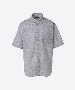 ARAMIS(Men)/アラミス [紳士大きいサイズ]半袖リップルプリントシャツ