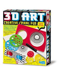 4M(Baby&Kids)/フォーエム 3Dアート 楽しいらせん