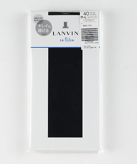 LANVIN en Bleu 40デニールタイツ