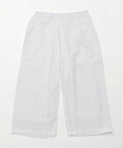 夏用素材/クレープ素材五分丈パンツ(1105-55)/前開き