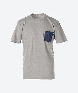 SUN68(Men)/サンシックスティーエイト デニムポケットTシャツ
