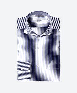 FAIRFAX(Men)/フェアファクス カッタウェイブロックストライプシャツ