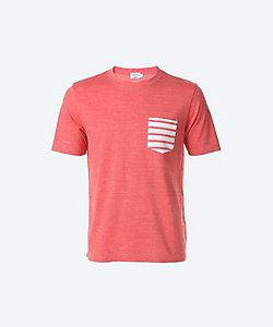 GIM(Men)/ジム 半袖ボーダーポケットTシャツ