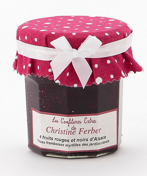 <クリスティーヌ・フェルベール/Christine Ferber> 4種のレッド&ブラックベリー(ストロベリー、フランボワーズ、ブルーベリー、カシス)【三越・伊勢丹/公式】