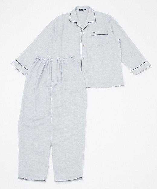 <WIND/ウィンド> ナイトウェア トリプルガーゼ(メンズ) サックス【三越伊勢丹/公式】