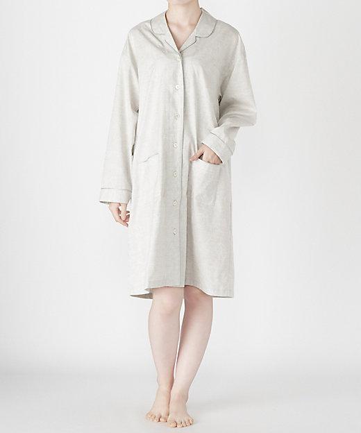 <WIND/ウィンド> ナイトウェア ジャカードペイズリー柄ドレス (レディス) グレー【三越伊勢丹/公式】