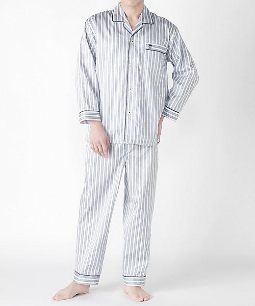 <WIND/ウィンド> ナイトウェア サテンストライプパジャマ (メンズ)【三越伊勢丹/公式】