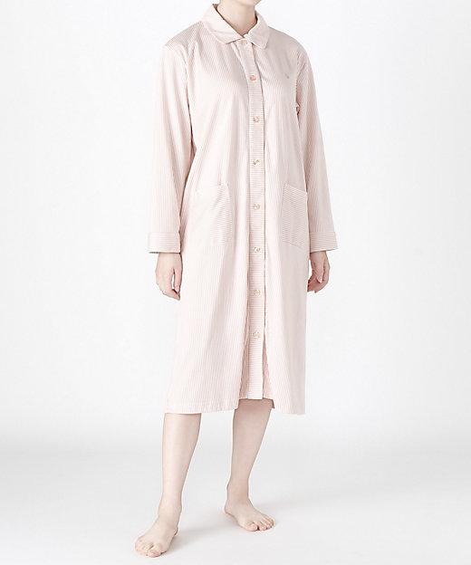 <WIND/ウィンド> ナイトウェア スムースストライプドレス (レディス) ピンク【三越伊勢丹/公式】