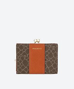 NINA RICCI(Bag&SLG) /ニナ リッチ NRグレインヌーボ口金折財布