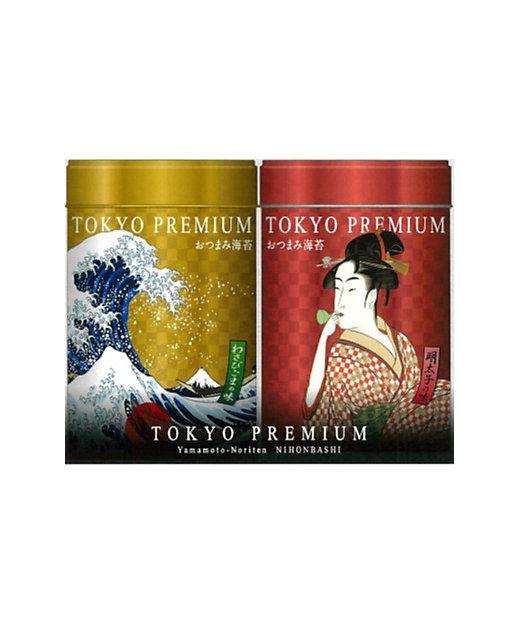 <山本海苔店/ヤマモトノリテン> TOKYO PREMIUMおつまみ海苔2缶詰合せ【三越伊勢丹/公式】