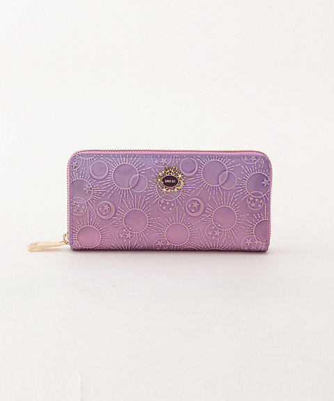 a1dcb7c91a85 アナ スイ/ANNA SUI> 「ガラクシア」ラウンドファスナー長財布(313581) ラベンダー(82) 【三越・伊勢丹/公式】