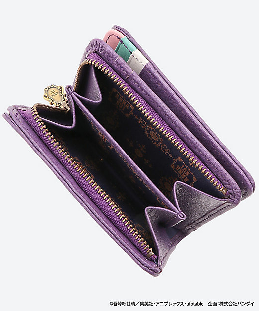鬼滅の刃×ANNA SUI 二つ折り財布(受注生産品・8月中旬以降届け)