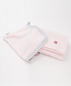 トラベルブランケット ピンク/ブルー
