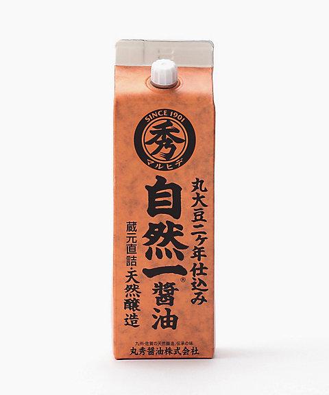 <丸秀醤油> 自然一醤油【三越・伊勢丹/公式】