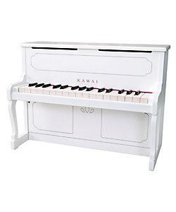 河合楽器製作所(Baby&Kids)/カワイガッキセイサクジョ アップライトピアノ ホワイト