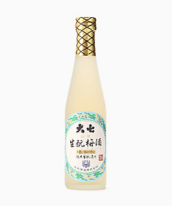 <大七酒造>生もと梅酒シルキースパークリング