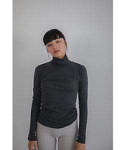 Sacre (Women)/サク・レ In your shirts フライスタートルネック長袖シャツ