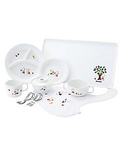 FAMILIAR(Baby&Kids)/ファミリア 食器セットA(160016)