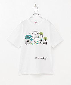 坂崎千春/サカザキ チハル モノクロ動物園Tシャツ L